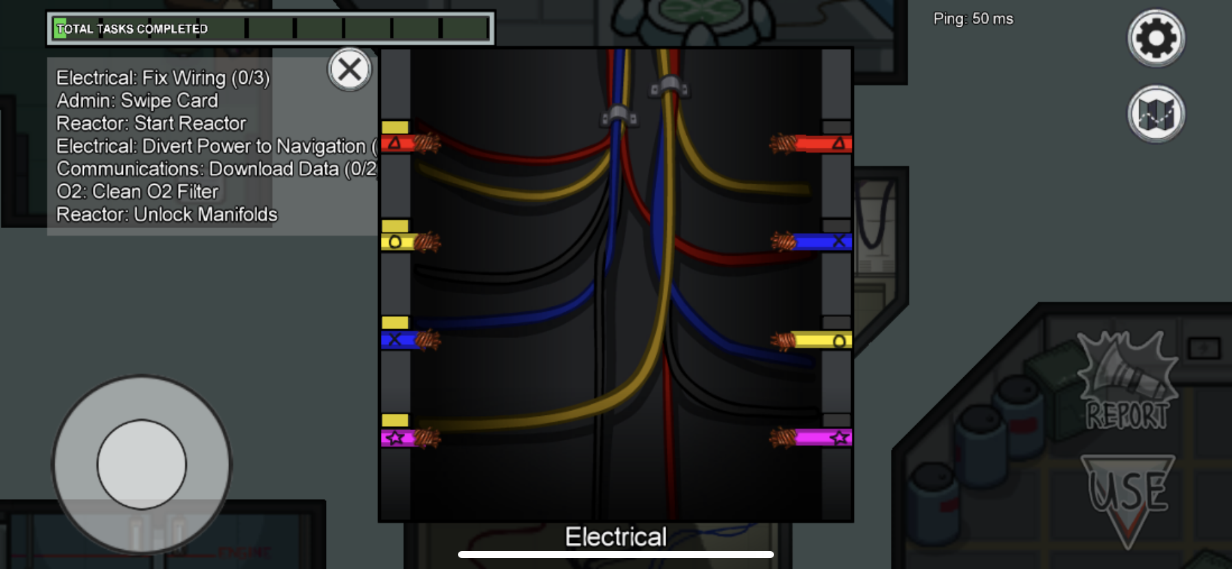 Fix Wiring Task In Among Us